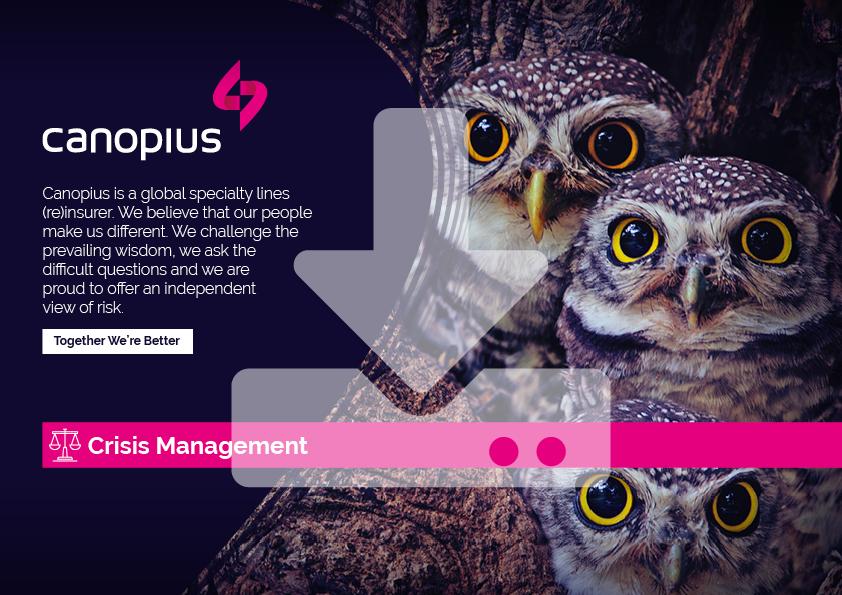 Canopius-Factsheet-Crisis-Management